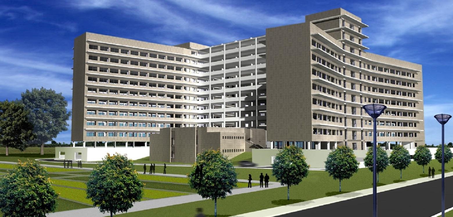 Nuovo edificio di 11 piani fuori terra ministero delle for Piani di costruzione dell edificio